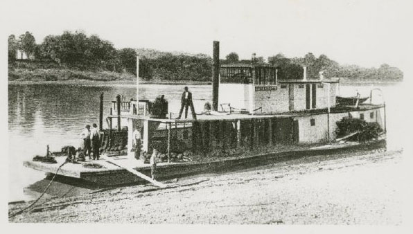 Steamship Guyandotte (year unknown)
