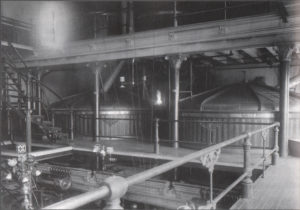 "Inside the ""Modernized"" Foss-Schneider Brewery circa 1880"