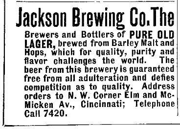 Jackson Brewing Co. - Cincinnati, OH